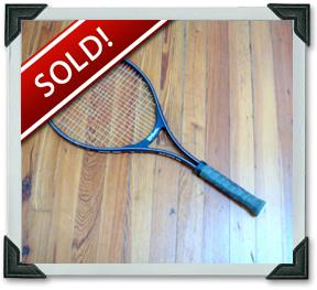 An Old School Wilson Tennis Racket Trade For It